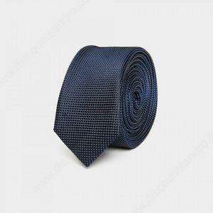 Sandro Navy Blue Polka Dot Men's Tie
